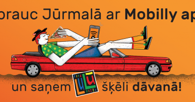 Total Lulū and Mobilly come to Jūrmala!