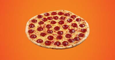 You've gotta be...getting a salami pizza for free!