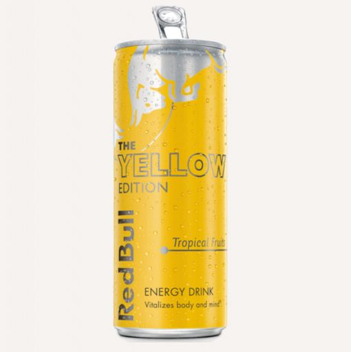 Red Bull Yellow Edition 250ml  - 1 - Pica Lulū