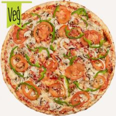 Photo Veggie pizza - Pica Lulū