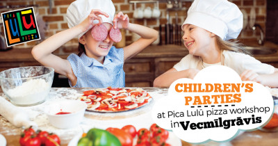 Children's party at Pica Lulū