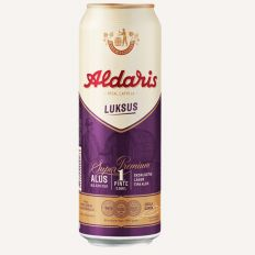 Photo Aldaris Luksus beer 1 pint (5.2%) - Pica Lulū