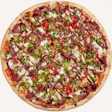 Photo BBQ Beef Pizza - Pica Lulū