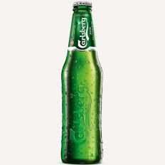 Photo Carlsberg non alcoholic beer 0.33l