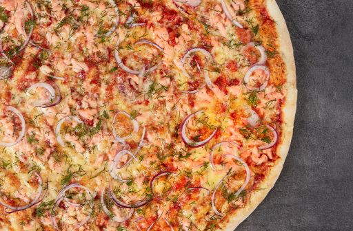 Salmon pizza - 1 - Pica Lulū