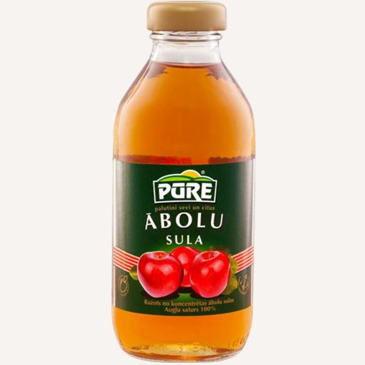 Pūre Apple juice 0.33l - 1