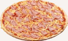 Photo Ham pizza - Pica Lulū