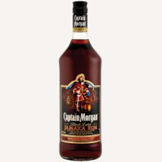 Attēls Rums Captain Morgan Black Label 0,7L(40%) - Pica Lulū