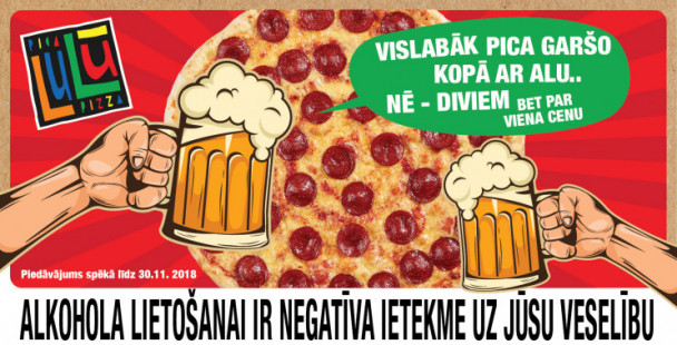 Pizza tastes best with beer and better yet with two! But for the price of one