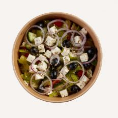 Photo Greek salad