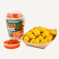 "Photo RAKVERE ""Just eat it"" chicken nuggets with sweet chili sauce 190g - Pica Lulū"