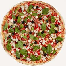 Photo Greek pizza