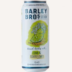 Photo Barley Bros - Elderflower & Lime 0.5l - Pica Lulū
