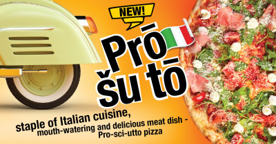 Hot novelties on the Pizza Lulu menu