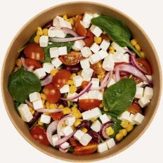 Photo  Bean / cheese salad - Pica Lulū