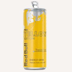 Photo Red Bull Yellow Edition 0.25l - Pica Lulū