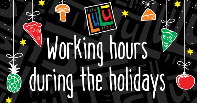 Working hours during the holidays
