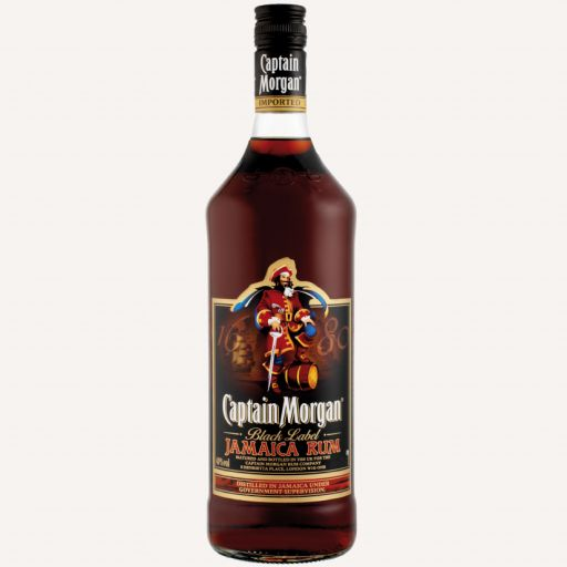 Rums Captain Morgan Black Label 0,7L (40%) - 1 - Pica Lulū