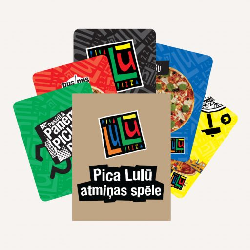 Pizza Lulū memory card game - 1 - Pica Lulū