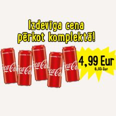 Photo Coca-Cola set 5 x 0,33l - Pica Lulū